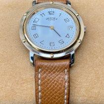 Hermès Silber 34mm Quarz 111477 gebraucht