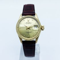 Rolex Lady-Datejust Or jaune 26mm Champagne Sans chiffres France, Paris