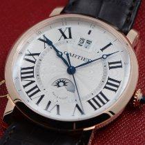 Cartier Rotonde de Cartier Rose gold Silver Roman numerals United States of America, Texas, Houston