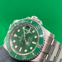 Rolex Submariner Date Steel 40mm Green No numerals United States of America, Florida, West Palm Beach
