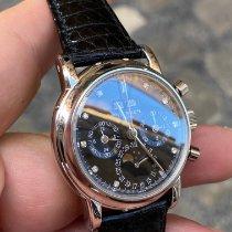 Patek Philippe Perpetual Calendar Chronograph Platina Negru