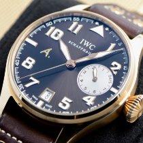 IWC Rose gold Automatic Brown Arabic numerals 46mm new Big Pilot