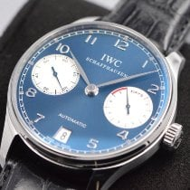 IWC Portuguese Automatic Steel Blue Arabic numerals United States of America, Texas, Houston