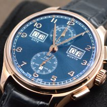 IWC Portuguese Perpetual Calendar Digital Date-Month Rose gold 45mm Blue Arabic numerals United States of America, Texas, Houston