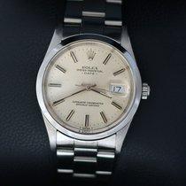 Rolex Oyster Perpetual Date Acier 34mm Argent Sans chiffres France, Paris