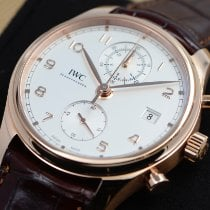 IWC Portuguese Chronograph new 2017 Automatic Chronograph Watch with original box and original papers IW390301