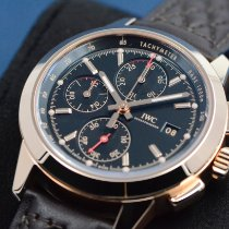 IWC Ingenieur Chronograph Red gold 42.3mm Black No numerals United States of America, Texas, Houston