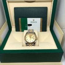 Rolex 126303 Gold/Steel 2017 Datejust 41mm pre-owned United States of America, New York, New York