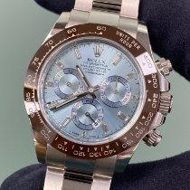 Rolex Daytona Platinum 40mm Blue No numerals United States of America, New York, Manhattan