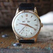 Cyma pre-owned Manual winding 34mm White Not water resistant