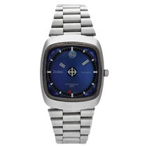 Zodiac Astrographic Steel 35.5mm Blue No numerals United States of America, Florida, Sarasota