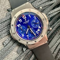 Hublot Super B Stål 42mm Blå Arabisk