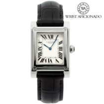 Cartier Tank (submodel) Platinum 27mm White United States of America, New York, New York
