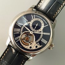Frederique Constant Manufacture Heart Beat Steel 42mm Blue Roman numerals