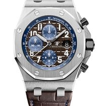 Audemars Piguet Royal Oak Offshore Chronograph Acier 42mm Brun Arabes