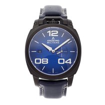 Anonimo Militare Steel 43.5mm Blue Arabic numerals