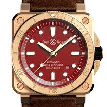 Bell & Ross BR 03 BR0392-D-RD-BR/SCA New Bronze 42mm Automatic