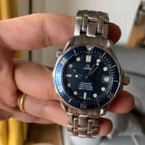 Omega Seamaster Diver 300 M Acier 36mm Bleu Sans chiffres France, Chambery