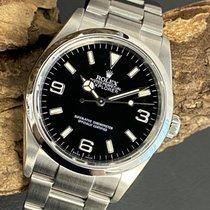 Rolex Explorer Steel 36mm Black