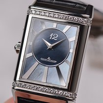 Jaeger-LeCoultre Grande Reverso Lady Ultra Thin Duetto Duo Steel Mother of pearl