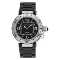 Cartier Pasha Seatimer Steel 40mm Black Arabic numerals United States of America, Florida, Surfside