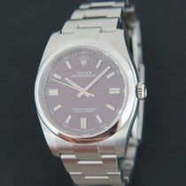 Rolex Oyster Perpetual 36 Steel 36mm Red