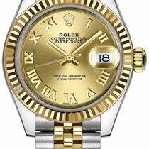 Rolex Lady-Datejust Steel 28mm Champagne Roman numerals United States of America, California, Moorpark