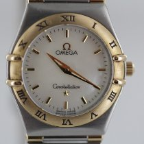 Omega Constellation Ladies gebraucht 25mm Perlmutt Gold/Stahl