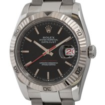 Rolex Datejust Turn-O-Graph pre-owned 36mm Black Date