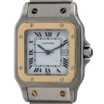 Cartier Santos Galbée Gold/Steel 29mm White Roman numerals United States of America, Texas, Austin