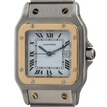 Cartier Santos Galbée Gold/Steel 29mm White Roman numerals United States of America, Texas, Austin