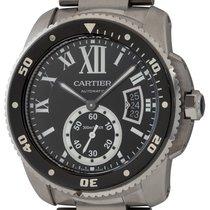 Cartier Calibre de Cartier Diver Steel 42mm Black Roman numerals United States of America, Texas, Austin