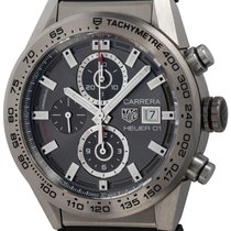 TAG Heuer Carrera Calibre HEUER 01 Titanium 43mm Black United States of America, Texas, Austin