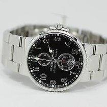 Ulysse Nardin Marine Chronometer 41mm Steel 41mm Black United States of America, Illinois, BUFFALO GROVE