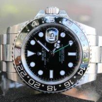 Rolex GMT-Master II Acero 40mm Negro Sin cifras