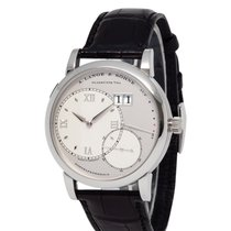 A. Lange & Söhne Grand Lange 1 Platinum 41mm Silver Roman numerals United States of America, New York, Hartsdale