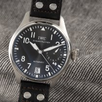 IWC White gold Automatic Grey 46.5mm pre-owned Big Pilot