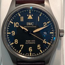 IWC Pilot Mark Τιτάνιο 40mm Μπλέ Αραβικοί