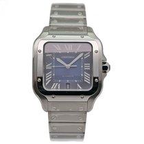 Cartier Santos (submodel) новые 2020 Автоподзавод Часы с оригинальными документами WSSA0030
