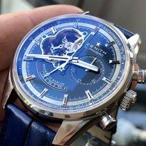 Zenith El Primero Chronomaster Acier 42mm Bleu