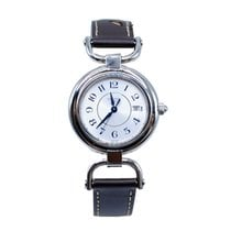 Longines Equestrian pre-owned 30mm Silver Date Leather