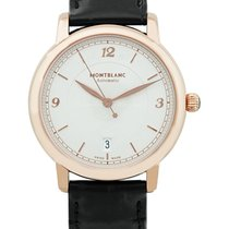 Montblanc Rose gold Automatic Silver 39mm new Star