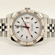 Rolex Datejust Turn-O-Graph Steel 36mm White United States of America, Washington, Bellevue
