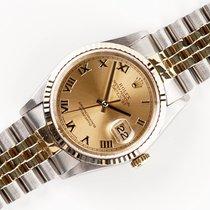 Rolex 16233 Goud/Staal 2000 Datejust 36mm tweedehands Nederland, Opmeer