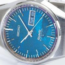 Seiko Superior Steel 37mm Blue No numerals