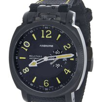 Anonimo Militare Steel 43mm Black United States of America, New York, New York