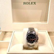 Rolex Daytona Сталь 40mm Черный Без цифр