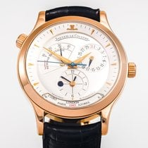 Jaeger-LeCoultre Rose gold Automatic Silver No numerals 38mm new Master Geographic