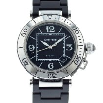 Cartier Pasha Seatimer W31077U2 pre-owned