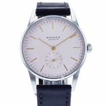 NOMOS Orion pre-owned 35mm Pink Leather